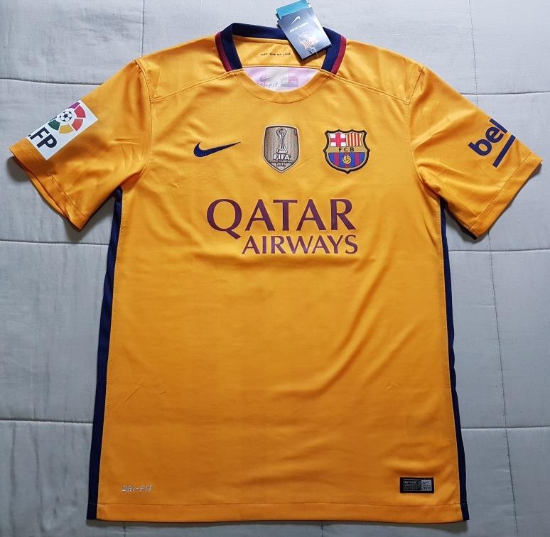 Camisa Original Barcelona Away 2015 2016 Messi 10 - R  260 40c35edffa614