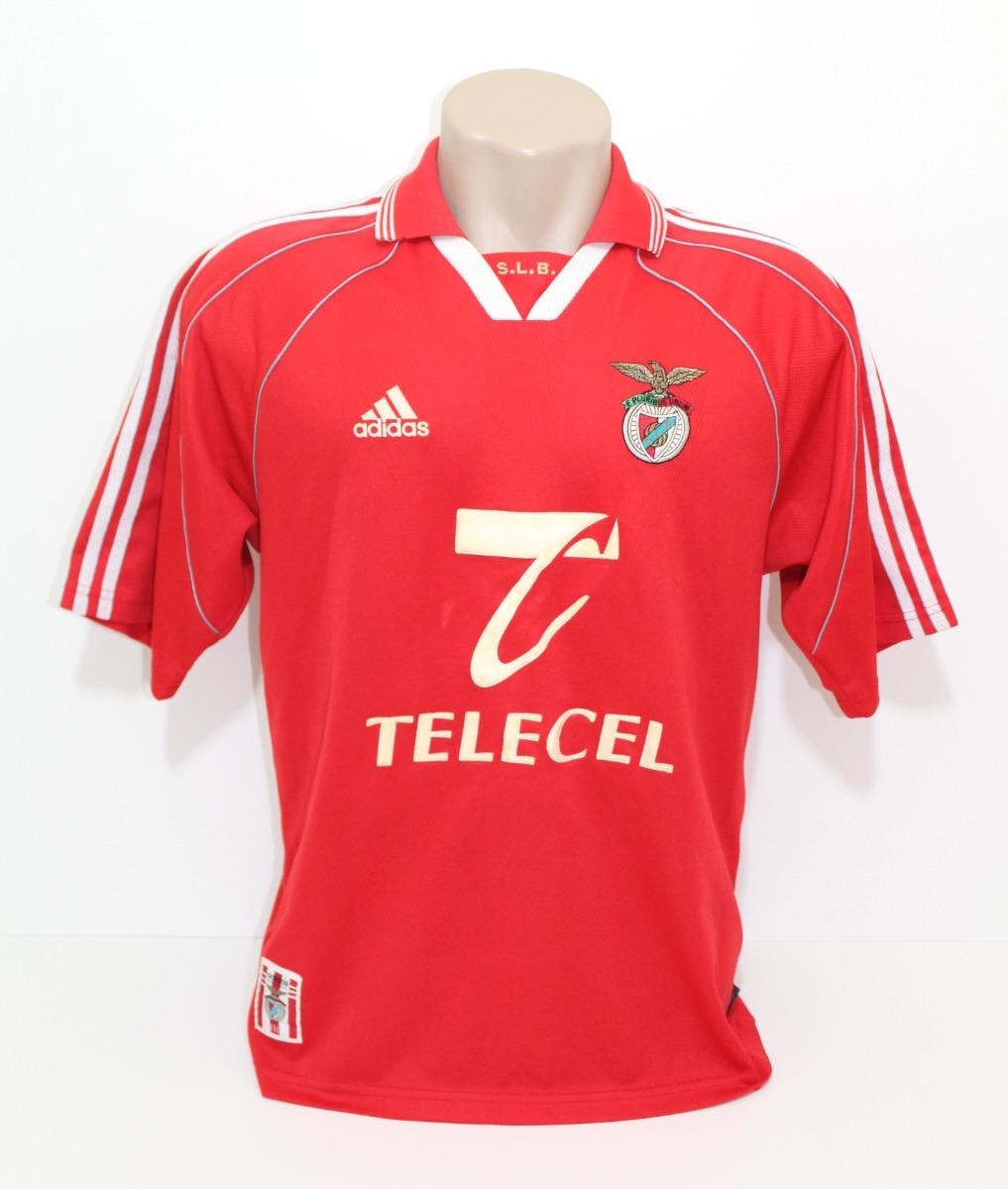 Camisa Original Benfica 1999 2000 Home adidas - R  220 ba9d3f33d571d