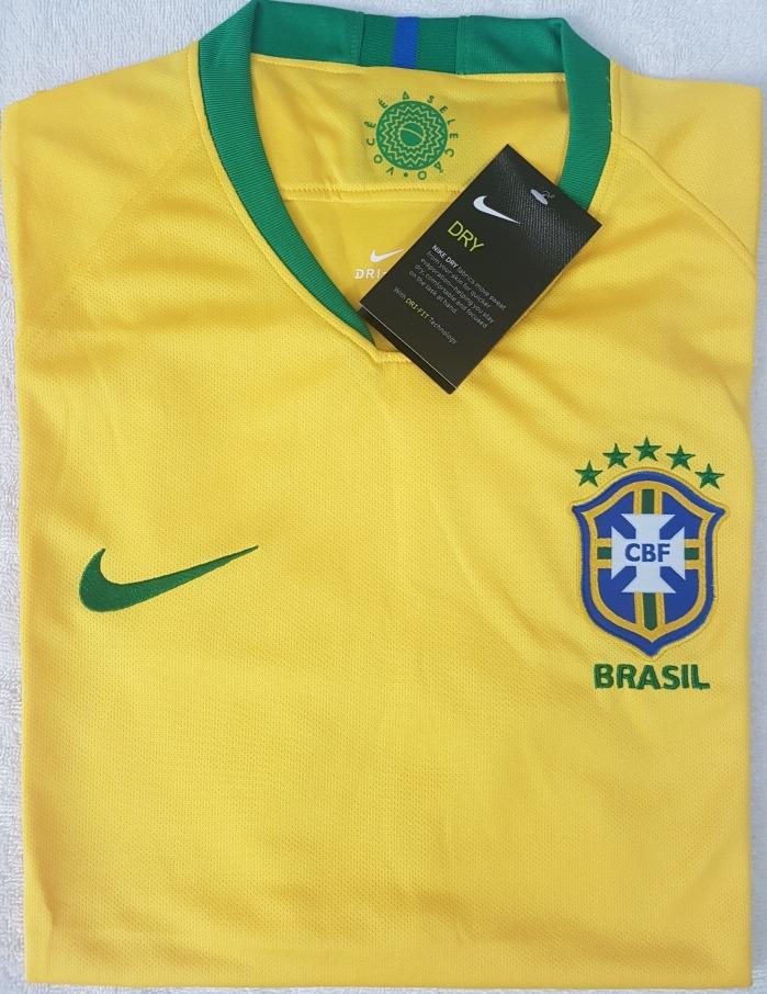 7de97e57a2 Camisa Original Brasil Copa 2018 (home) - R  69