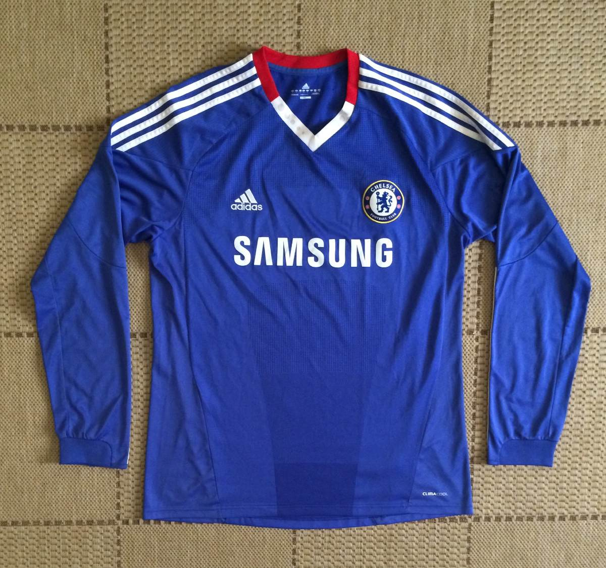 camisa original chelsea 2010 2011 home manga longa. Carregando zoom. 26caf326991a7