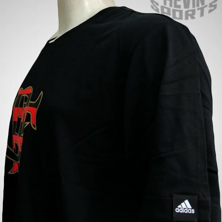 5f4d6f179d2f4 Camisa Original De Passeio Crf Preta Flamengo adidas - R  65