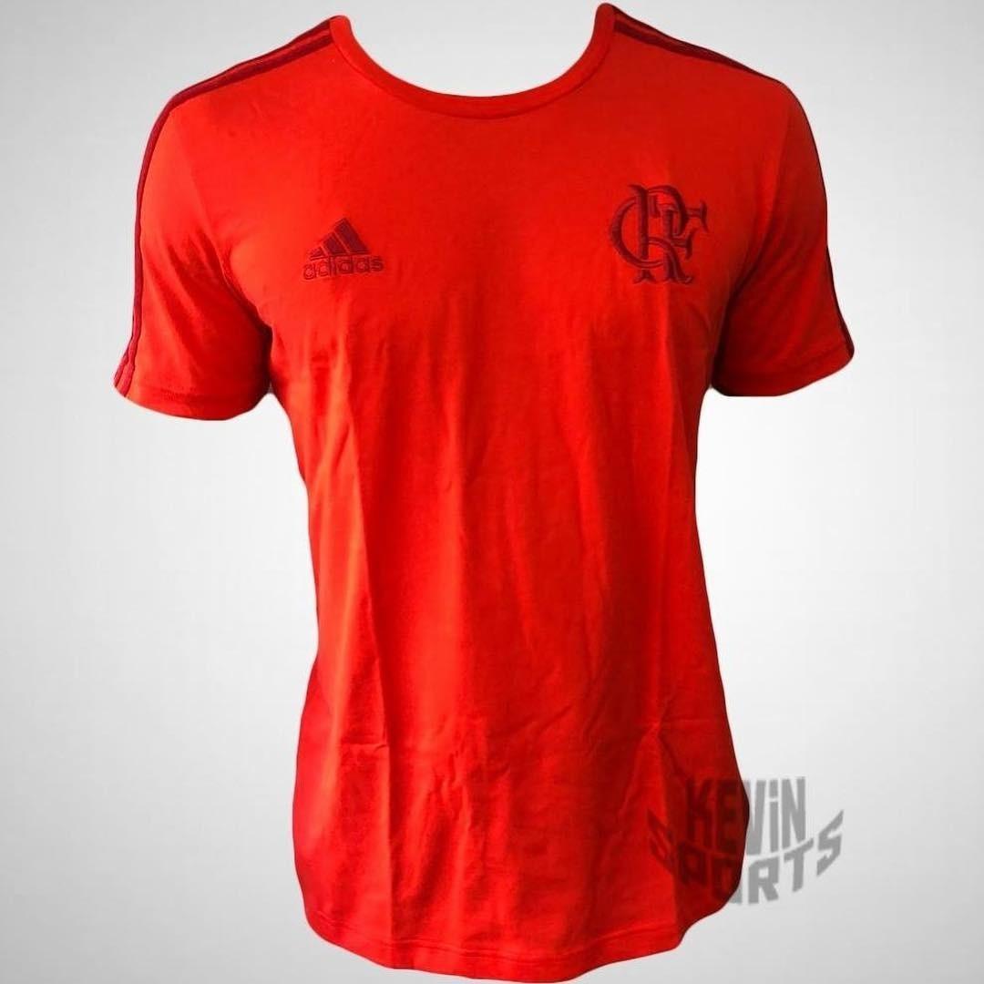 Camisa Original De Viagem 3s Flamengo adidas 2018 - R  110 14a63f34a291a