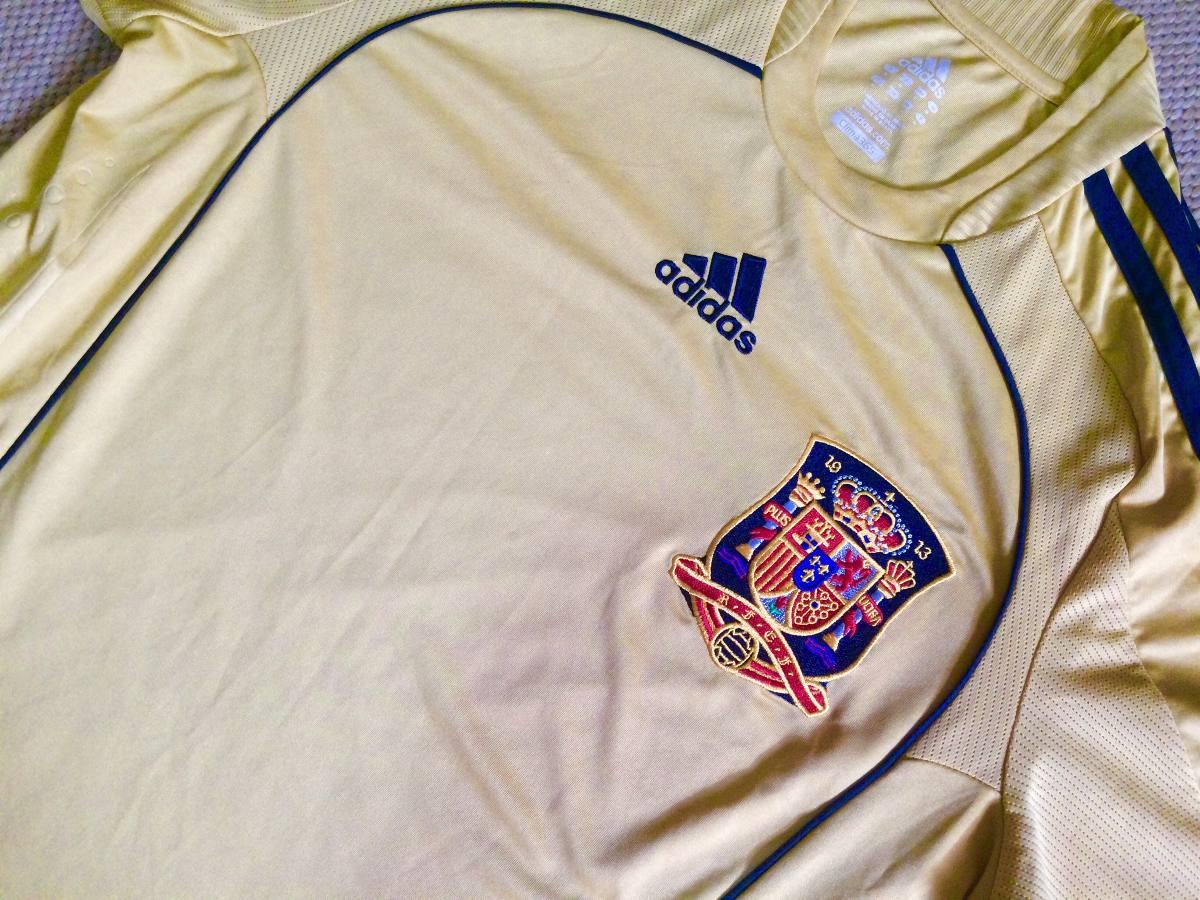 camisa original espanha 2008 away. Carregando zoom. 8ebf869d496b0