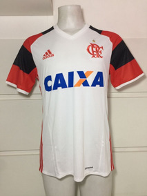 8d200237e95 Camisa Adidas Flamengo Ii 2017 - Camisas de Futebol no Mercado Livre Brasil