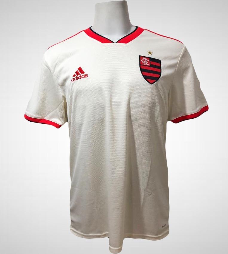 camisa original flamengo adidas branca ii 2018. Carregando zoom. 73e0be022109a