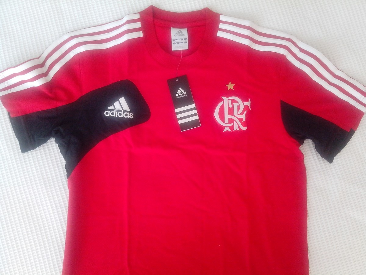 camisa original flamengo adidas comissão técnica nova. Carregando zoom. dfea2c658c716