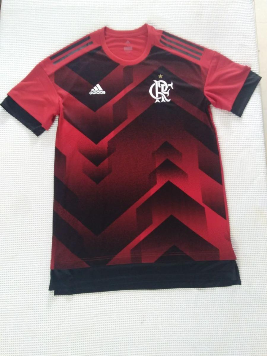 camisa original flamengo adidas pré jogo 2017 2018. Carregando zoom. 0a28da9768ebe