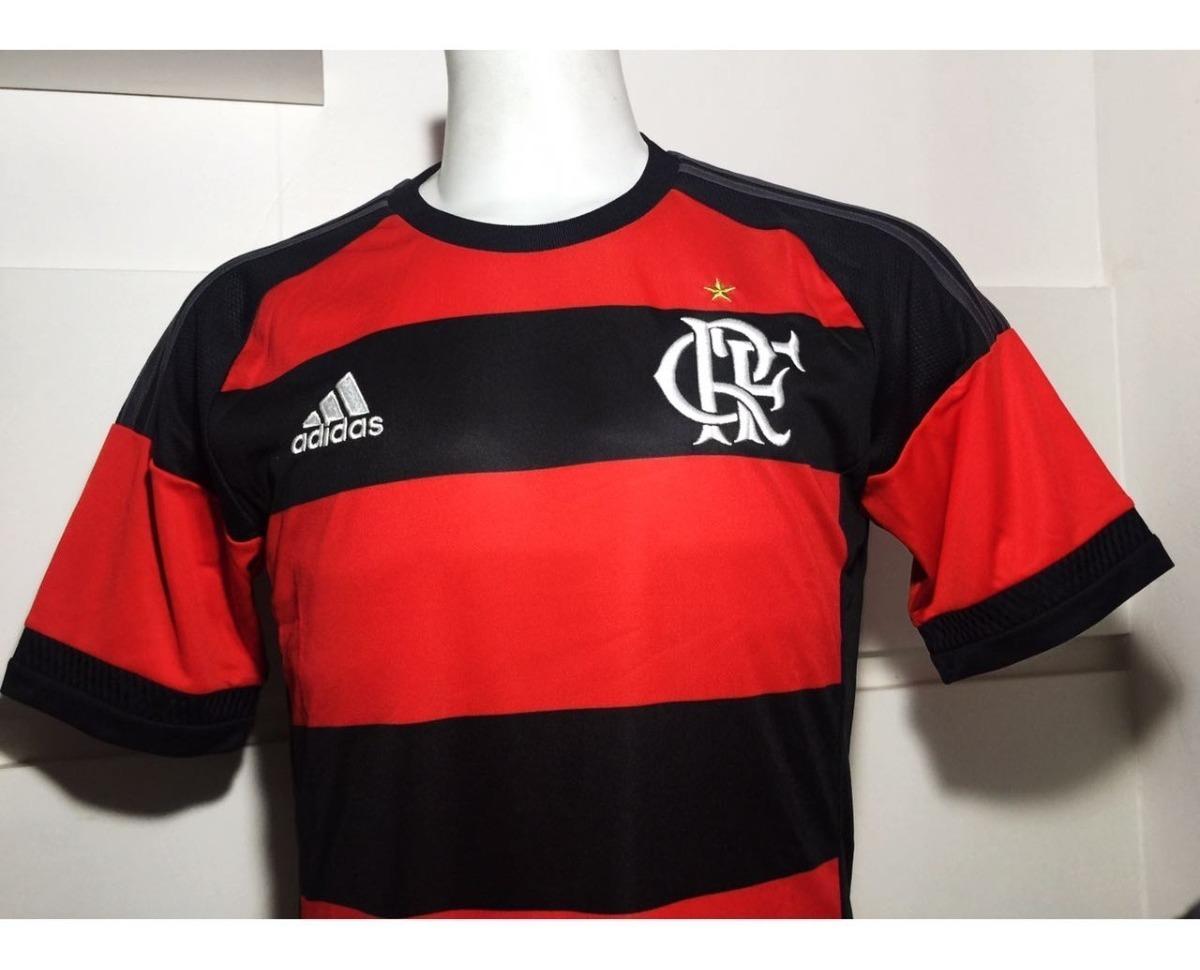 9e21c9d11a Camisa Original Flamengo adidas Rubro-negra 2015 2016 - R$ 149,99 em ...
