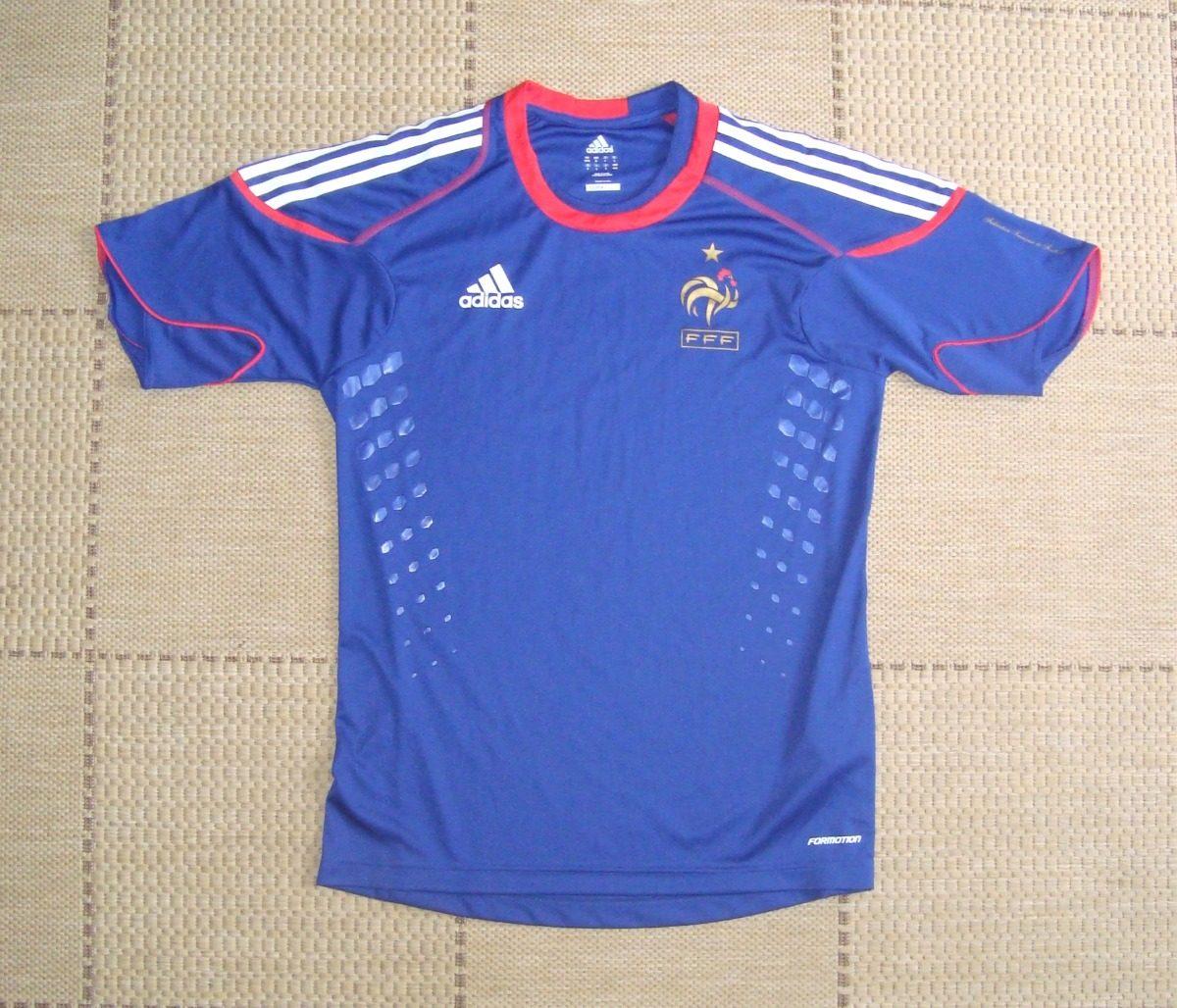camisa original frança 2010 treino. Carregando zoom. 2ca50224a9db3