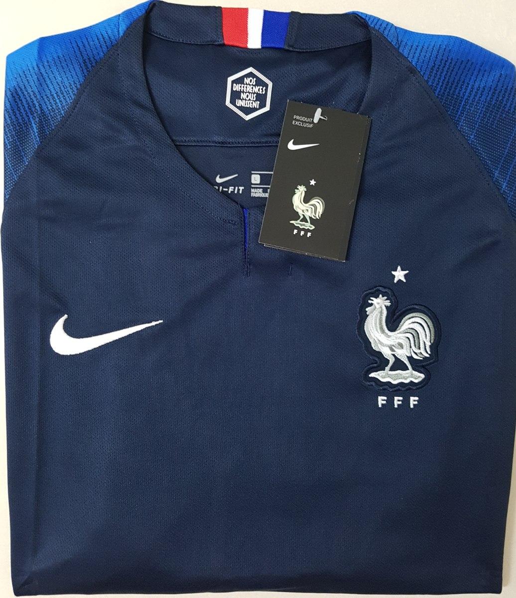 a7a1653464cef Camisa Nike Manchester City 2018 2019 I Torcedor Azul Masculina  01da7400deff17  O produto  Camisa Original França 2018 (home) - R 120