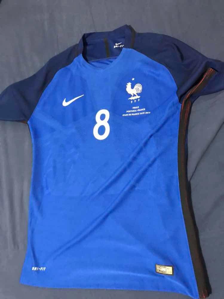 camisa original frança nike 2016 final eurocopa. Carregando zoom. 0a9a54bfa8353