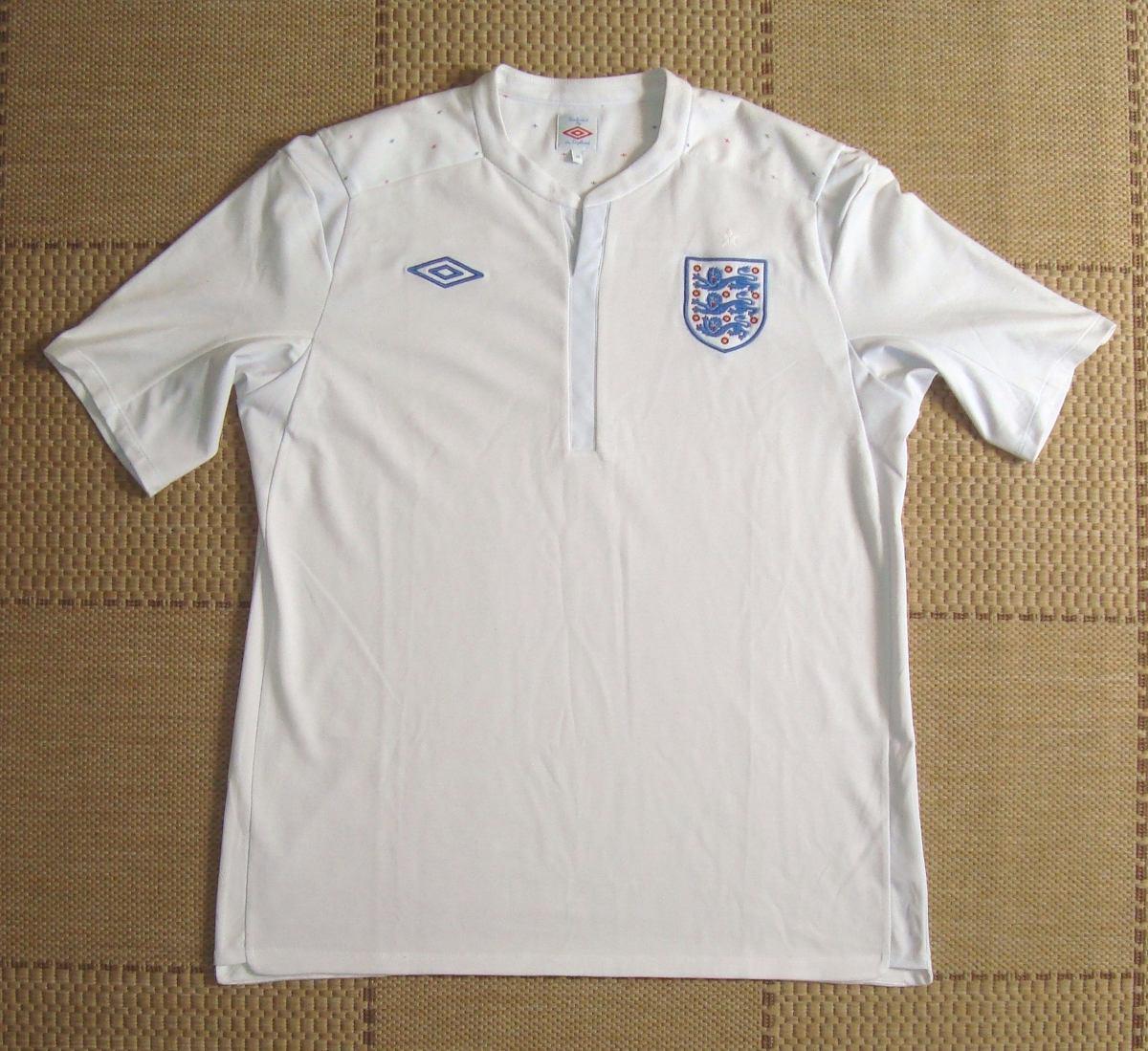 camisa original inglaterra 2011 2012 home. Carregando zoom. cb5fb6f43a529