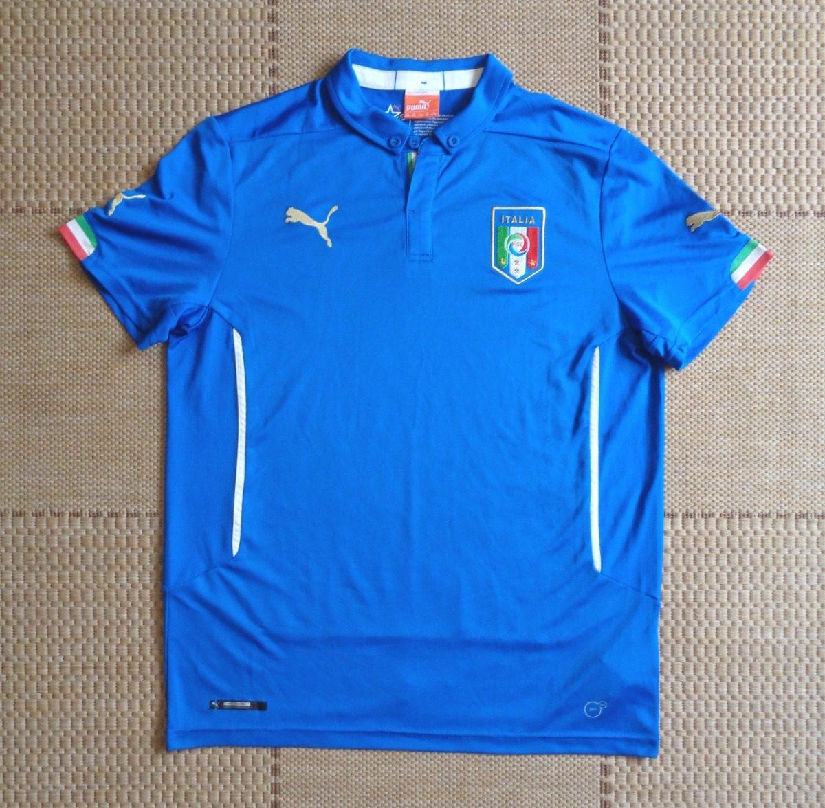 65b5e931f1859 camisa original itália 2014 2015 home balotelli. Carregando zoom.
