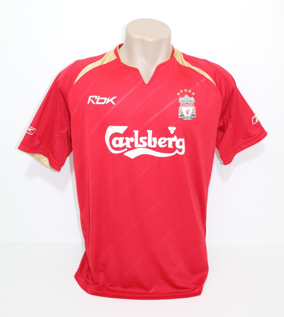 6683b298f camisa original liverpool 2005 2006 home. Carregando zoom.