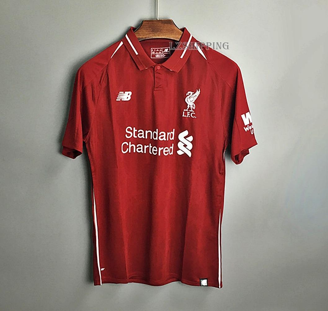 91e333b473 Camisa Original Liverpool Oficial 18 19 - Frete Grátis ! - R  149