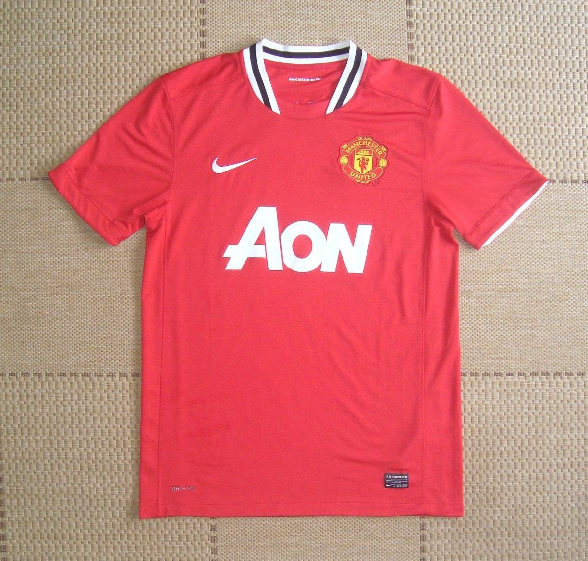 camisa original manchester united 2011 2012 home. Carregando zoom. 43a409c64be19
