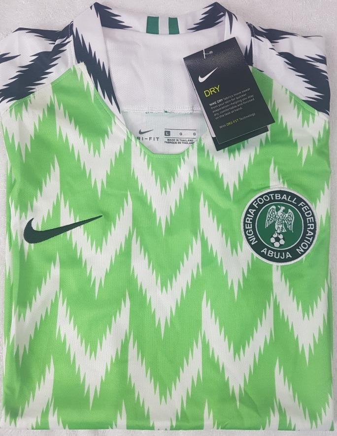 Camisa Original Nigéria Copa 2018 (home) - R  99 8e805fe8734b1