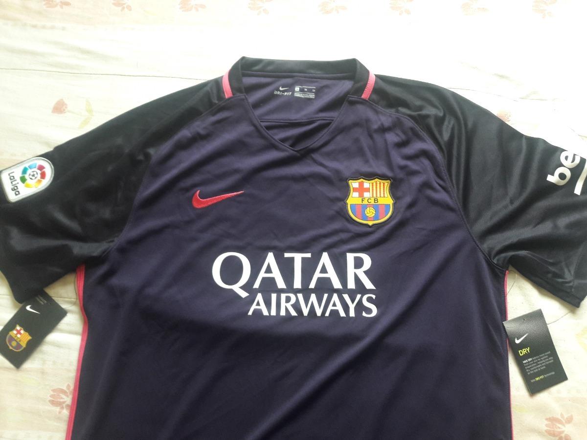 6e23a0a3fb Camisa Original Nike Barcelona Away 16 17 Tam. Gg S numero - R  120 ...