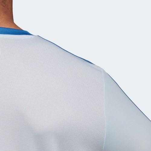 camisa original palmeiras adidas de treino 2018 azul br8162