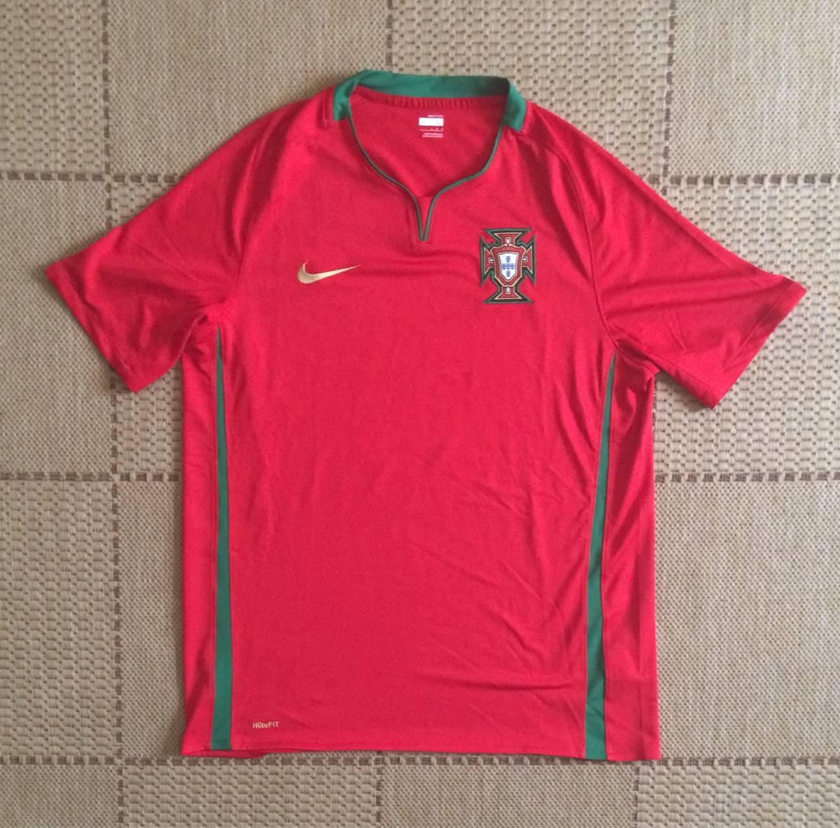 1c452925c1 camisa original portugal 2008 2009 home. Carregando zoom.