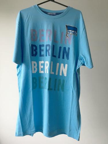 camisa original tamanho gg (xl) hertha berlin sc