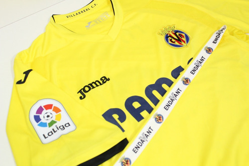 camisa original villarreal 2016/2017 home #10 pato