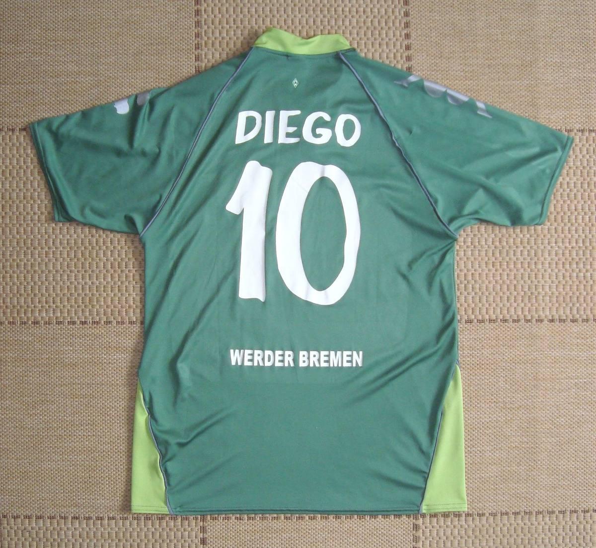 Camisa Original Werder Bremen 2007 2008 Third  10 Diego - R  200 68c79db25ee7e