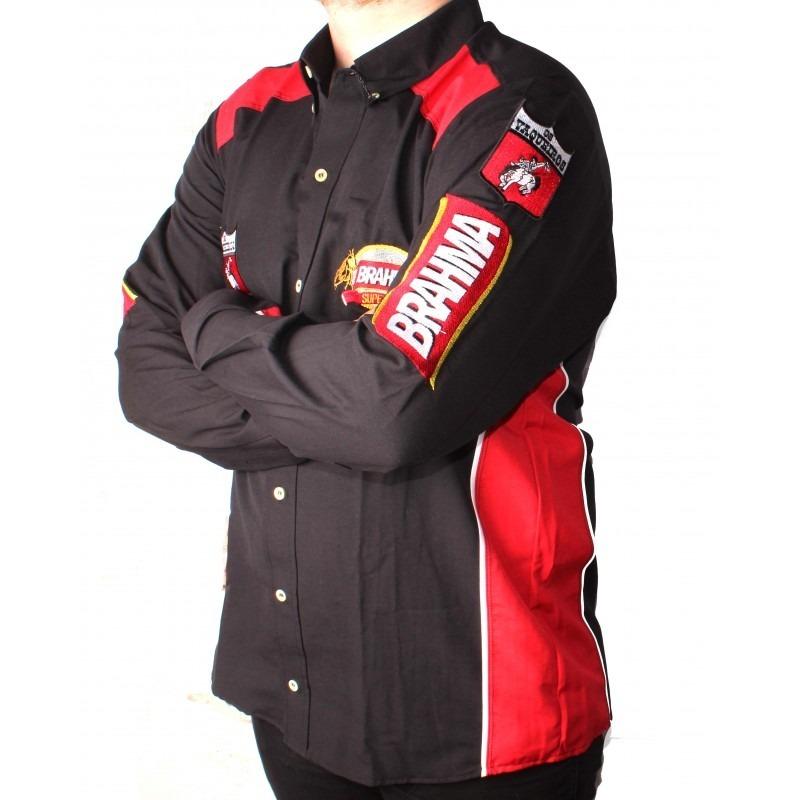 Camisa Os Vaqueiros Brahma Barretos 2160 - R  112 b9592b26d02