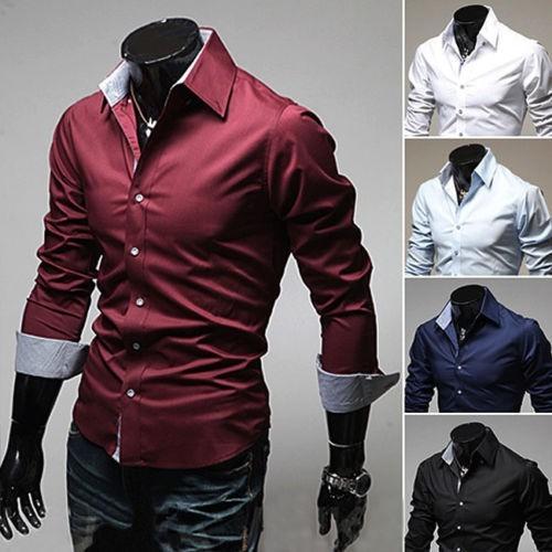camisa ou blusa social  masculina importada com manga longa