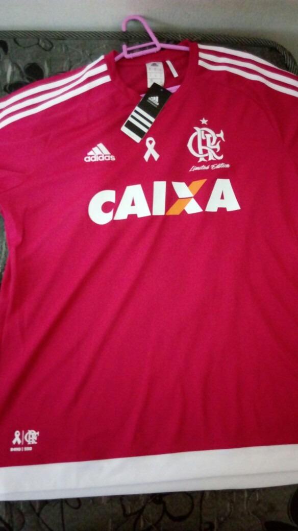 b3b648fc78 camisa outubro rosa do flamengo ! Carregando zoom.