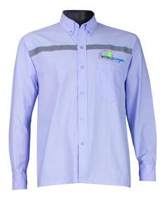 49e7df17a893 Camisa Azul Dotacion - Camisas de Hombre en Mercado Libre Colombia