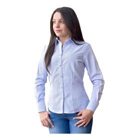 Camisa Oxford Nacional Dotación Mujer Clásica
