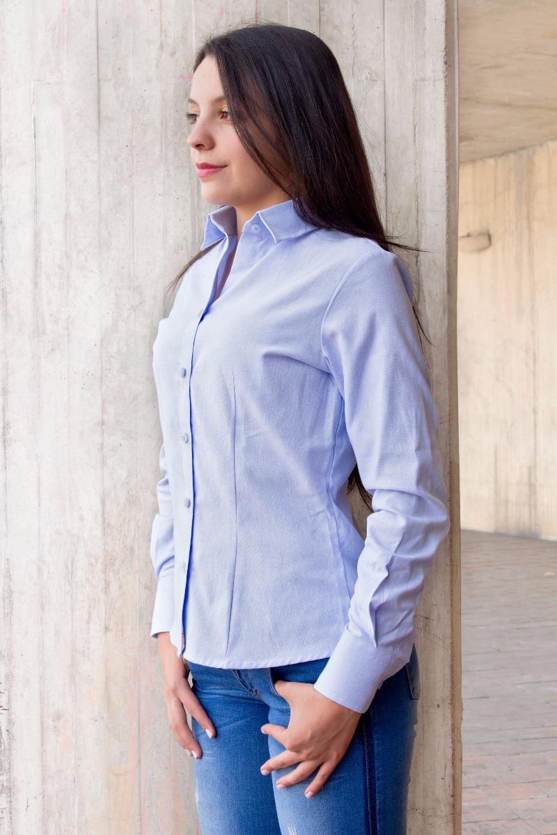 d2f9b124feb7 Camisa Oxford Nacional Dotación Mujer Clásica