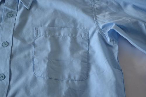 camisa p/ niños adolescentes escuela y/o liceo  marca nario