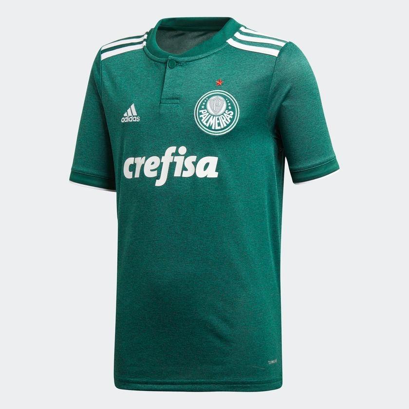 camisa palmeiras 1 adidas infantil cf9713 futebol original. Carregando zoom. afd9e535da686