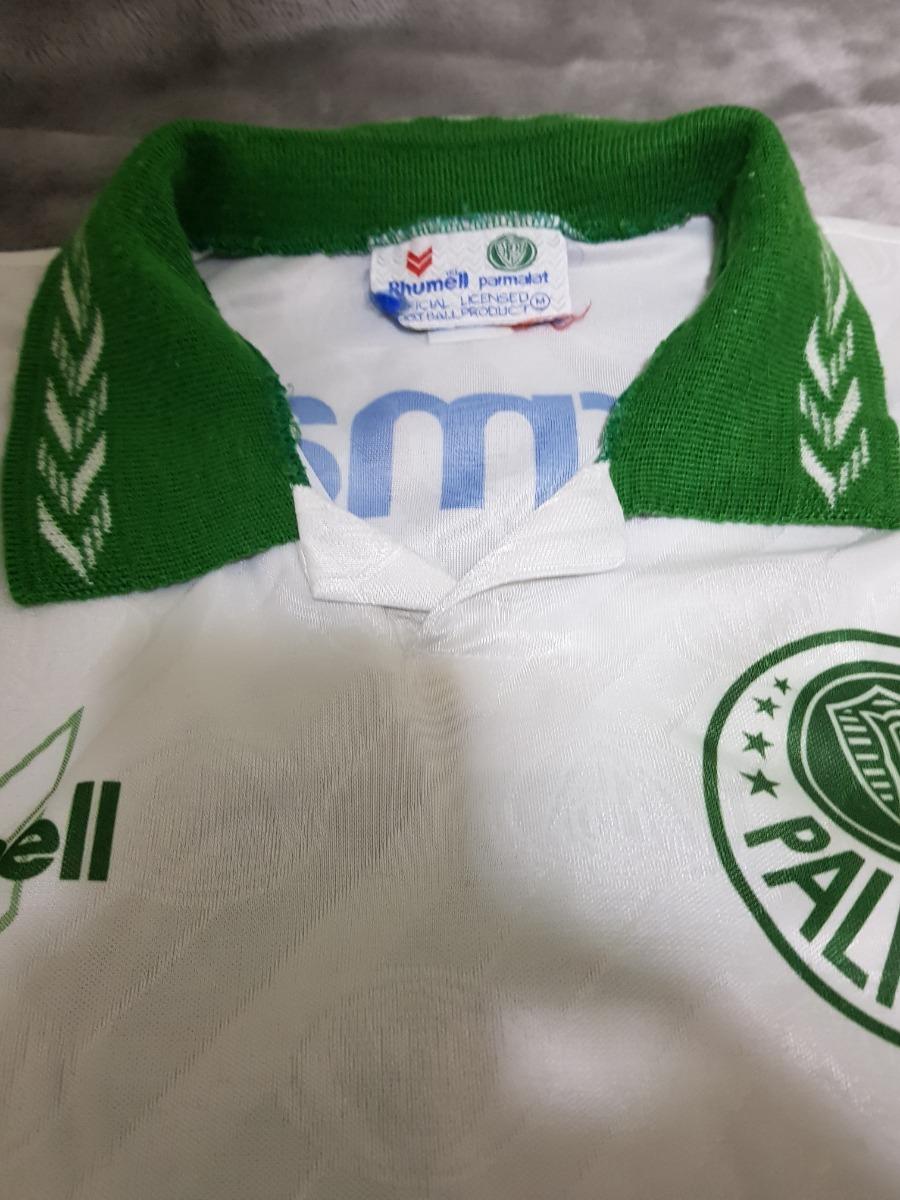 0d7f28e96e3f2 Camisa Palmeiras 1994 Tam M - Uniforme 2 Original Da Época - R  180 ...