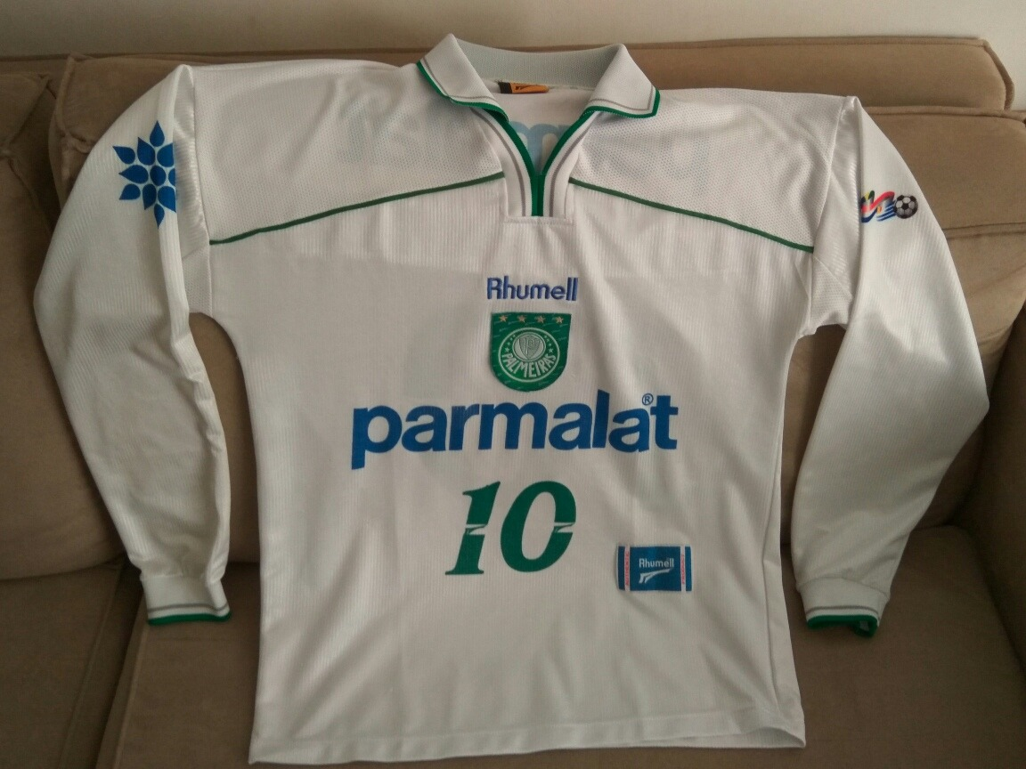 9fc72b9859 camisa palmeiras 1999 manga longa rhumell retro 99. Carregando zoom.
