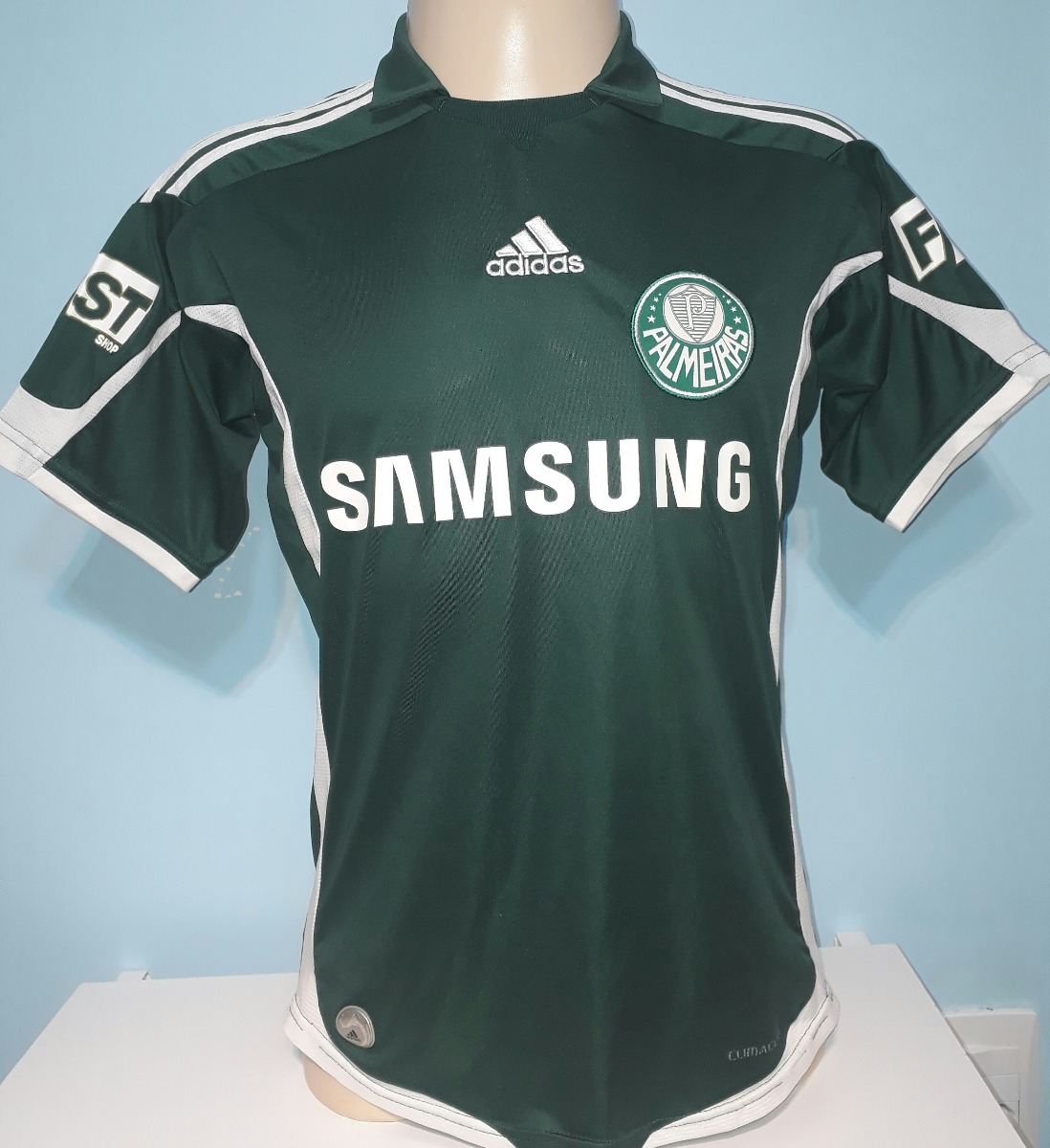 e4de5405ee6a7 Camisa Palmeiras 2010 Original adidas Tam P Ou 14 Anos - 10 - R  189 ...