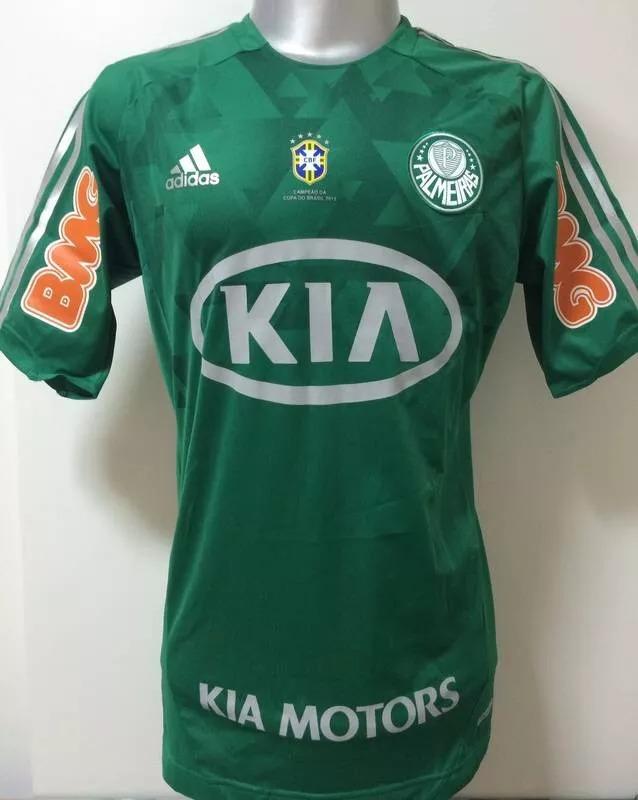 Camisa Palmeiras 2012 Tech Fit (8 m.araujo) Usada Em Jogo - R  300 ... a5162f5ec0df8