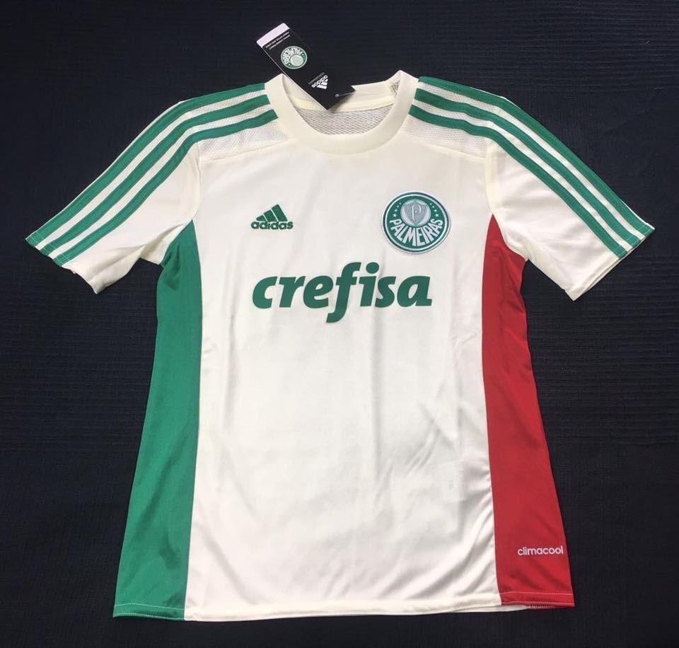 Camisa Palmeiras 2015 Away Tam 10 E 12 Infantil Nova - R  120 e3f416e2a5aad