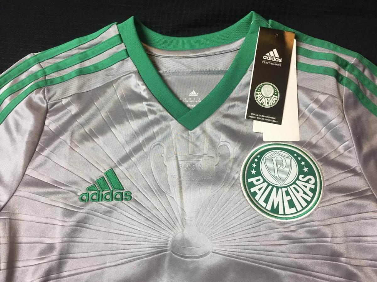 camisa palmeiras 2015 third infantil prata nova na etiqueta. Carregando  zoom. 3fd9e267ff8e2