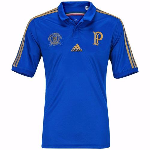 camisa palmeiras 2016 nova camiseta azul polo centenario