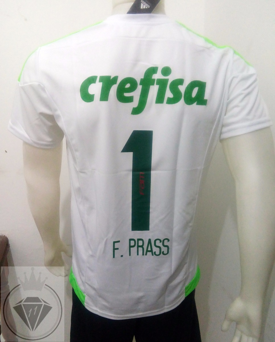 camisa palmeiras 2016 17 goleiro f. prass supporter torcedor. Carregando  zoom. 09bf1cb9dff06