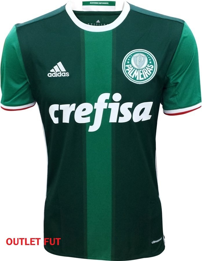 94600dae0f Camisa Palmeiras 2016 2017 Crefisa - R  39
