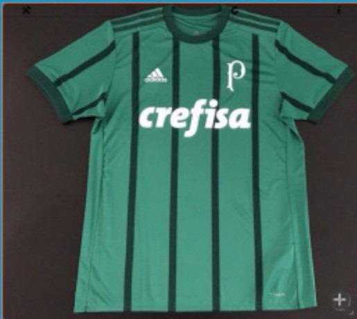 Camisa Palmeiras 2017 2018 -frete Grátis - R  129 78a69b19746ae