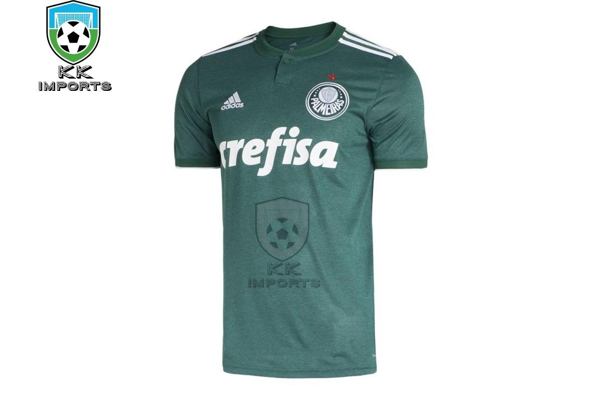 db172517f Camisa Palmeiras 2018 Uniforme 1 Sob Encomenda - R$ 170,00 em ...