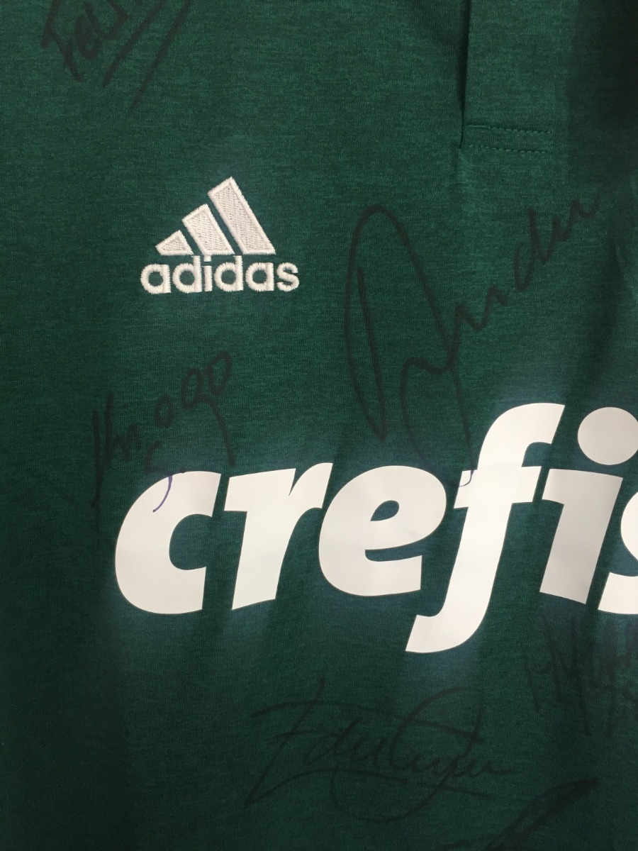 28d8340dc7 Camisa Palmeiras adidas Autografada Elenco Atual - R$ 230,00 em ...
