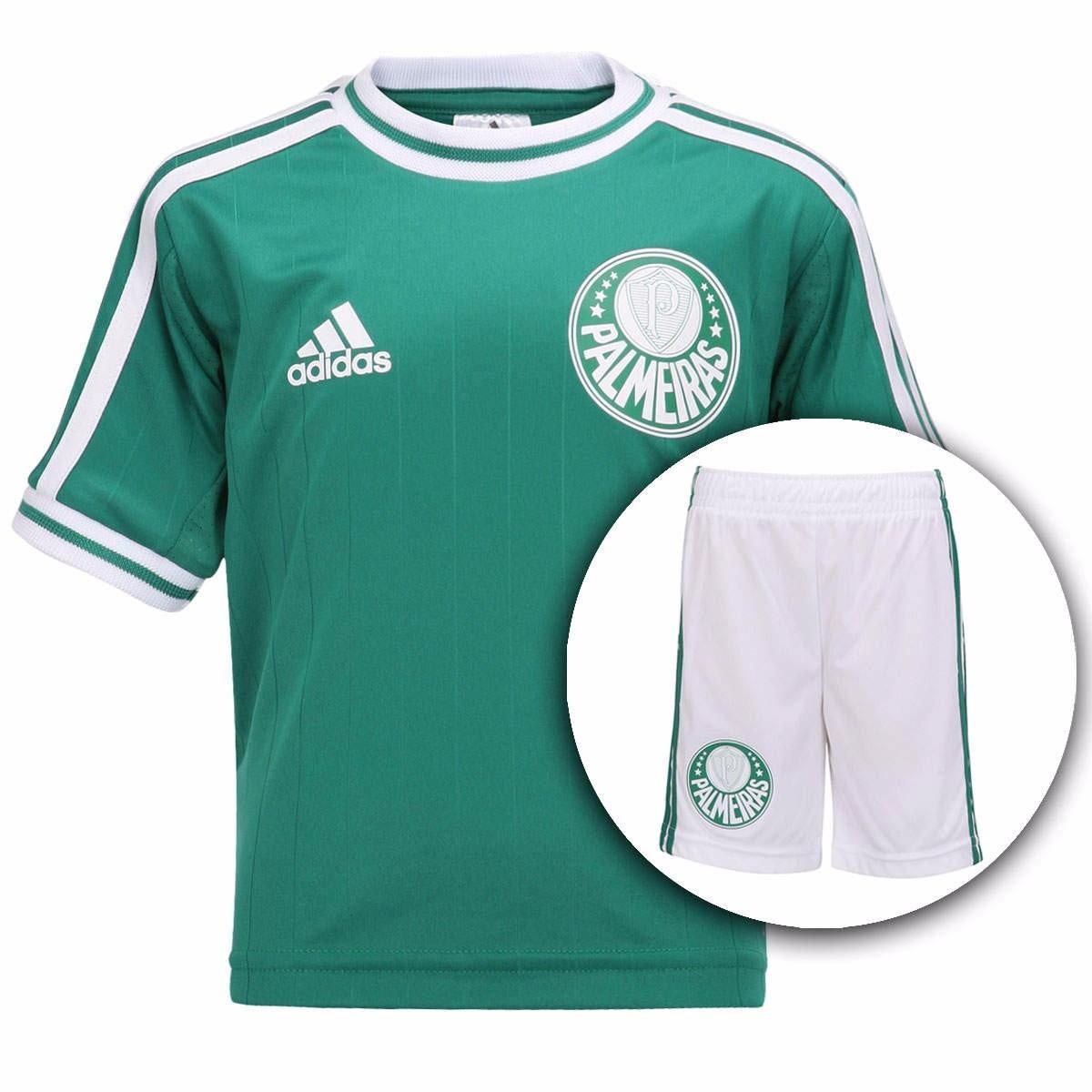 camisa palmeiras adidas oficial infantil kit 50% off. Carregando zoom. 64f84c94d45c7
