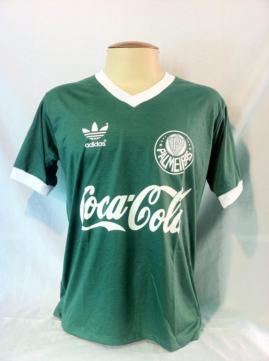3d91edf55a Camisa Palmeiras adidas Retrô Coca-cola Verde - M - R  75