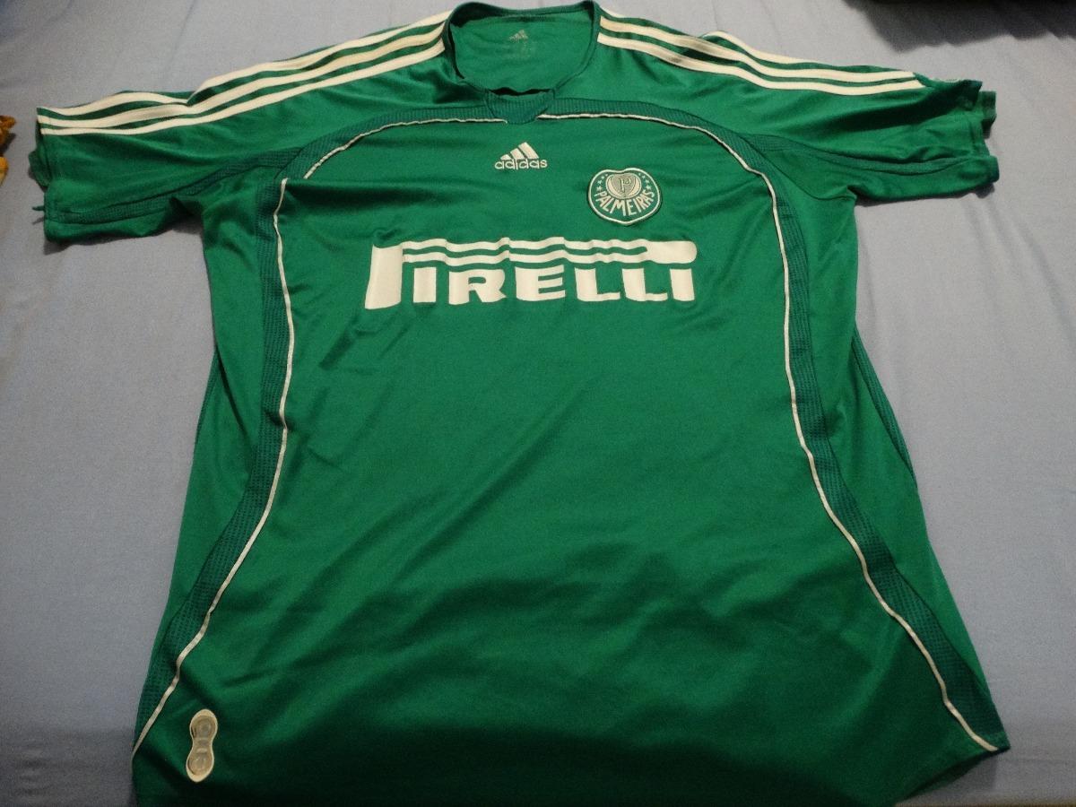 camisa palmeiras adidas verde 2006 nº 10 tamanho g. Carregando zoom. 8aeae39e85751
